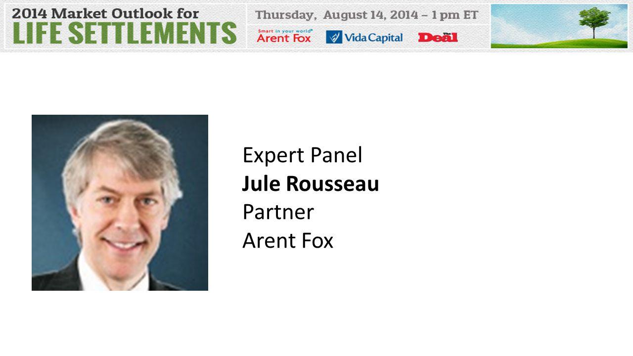 Expert Panel Jule Rousseau Partner Arent Fox