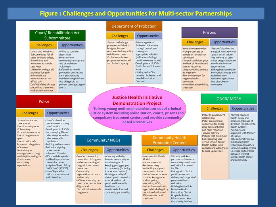 Figure : Challenges and Opportunities for Multi-sector Partnerships