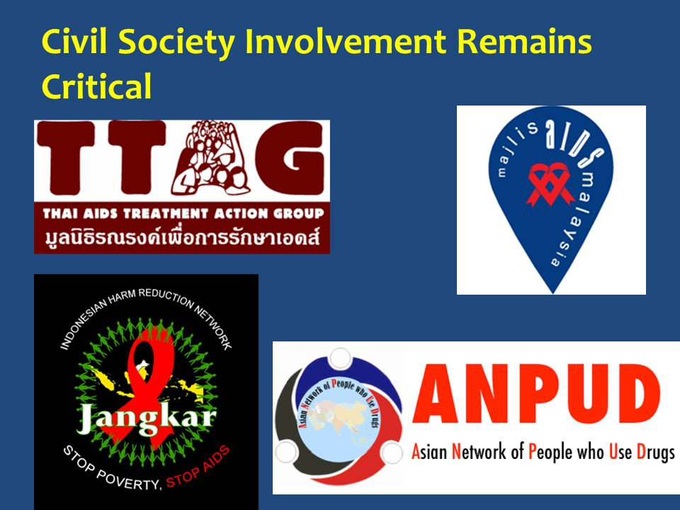 Civil Society Involvement Remains Critical