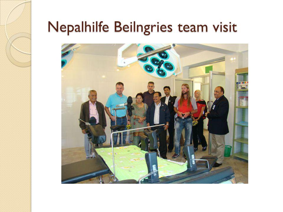 Nepalhilfe Beilngries team visit