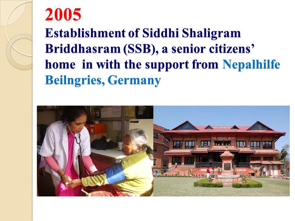 Glimpses SSB services: