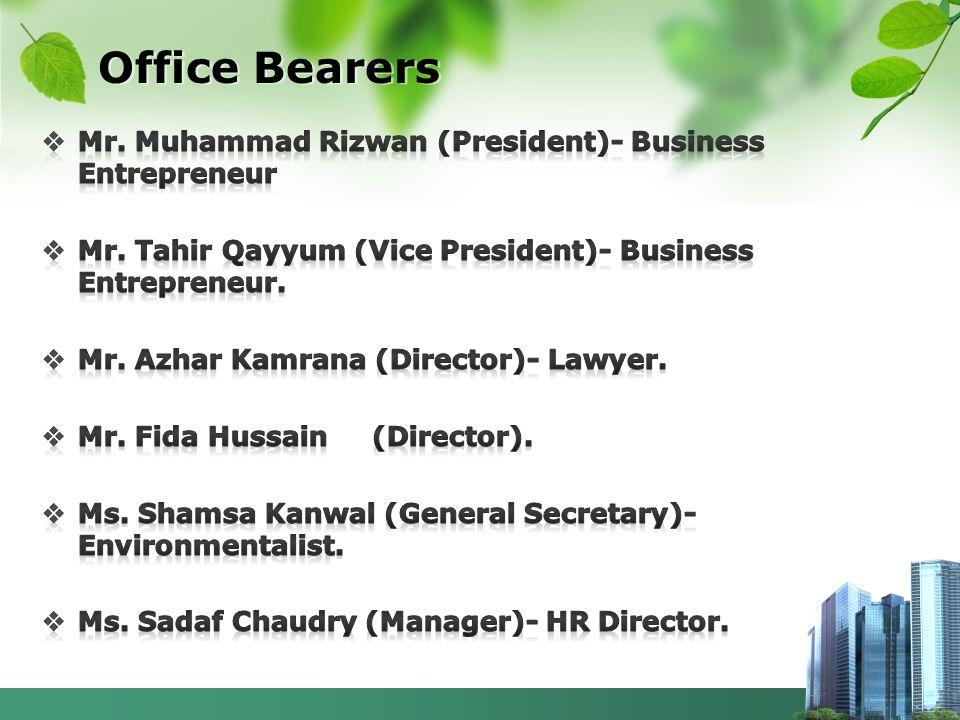 Office Bearers