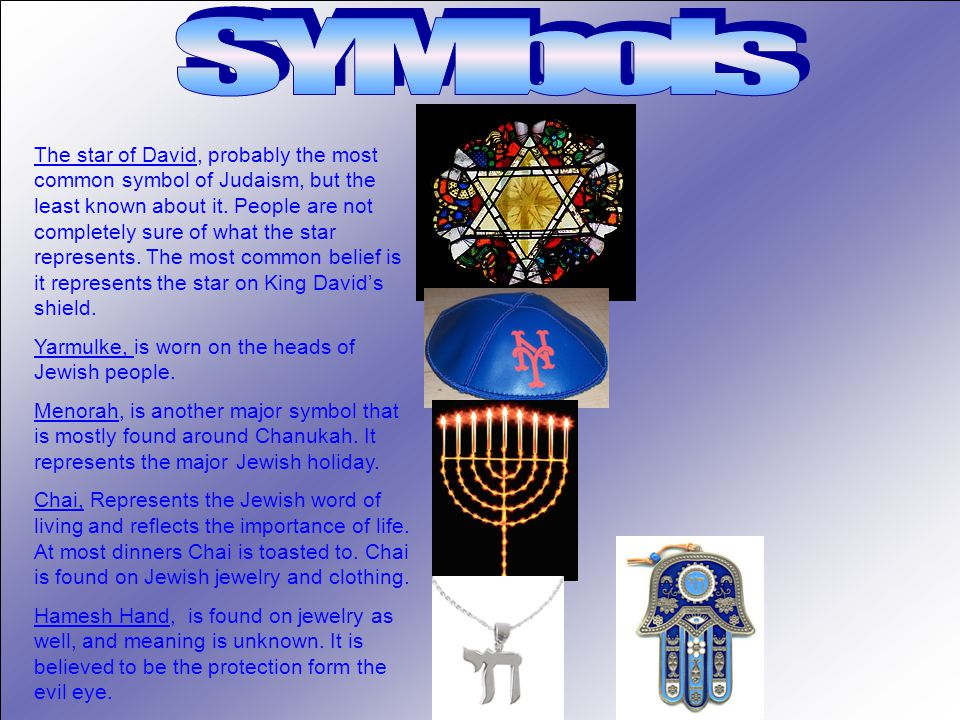 The star of David, probably the most common symbol of Judaism, but the least known about it.