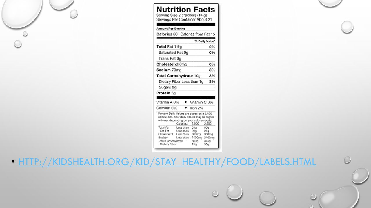 HTTP://KIDSHEALTH.ORG/KID/STAY_HEALTHY/FOOD/LABELS.HTML