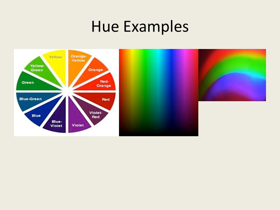 Hue Examples
