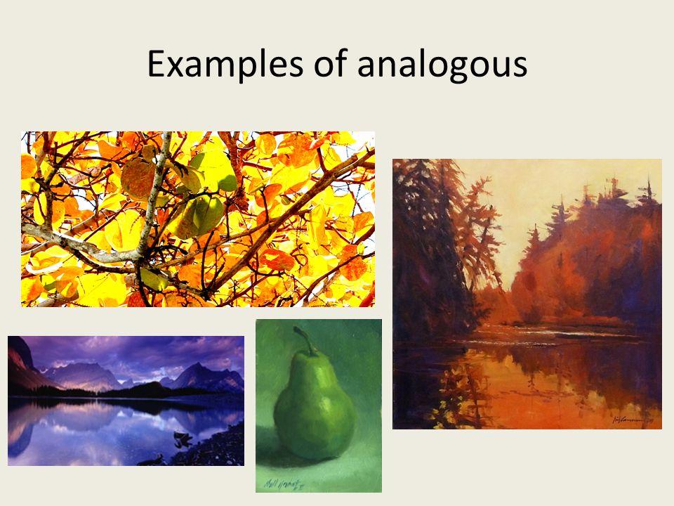 Examples of analogous