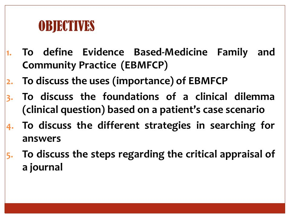 ADVANTAGES OF EBFCP TO DOCTORS:  Lifelong learning  Continuing professional development  Keeping up to date