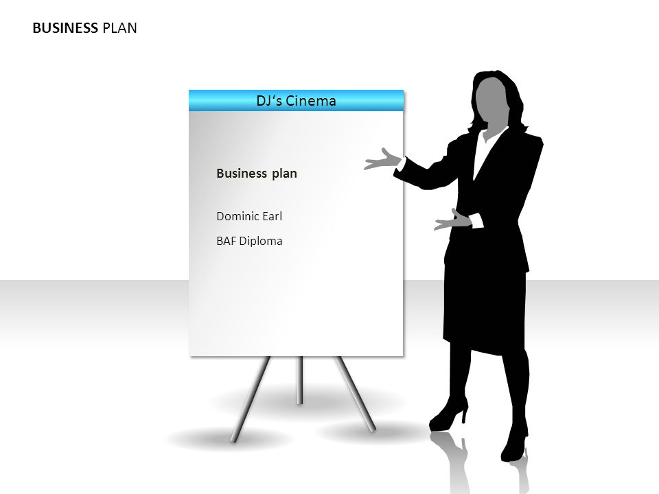 BUSINESS PLAN Business plan Dominic Earl BAF Diploma