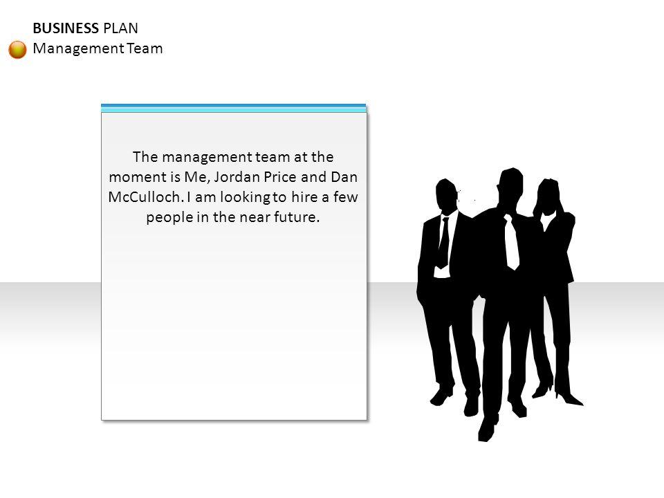 BUSINESS PLAN Management Team