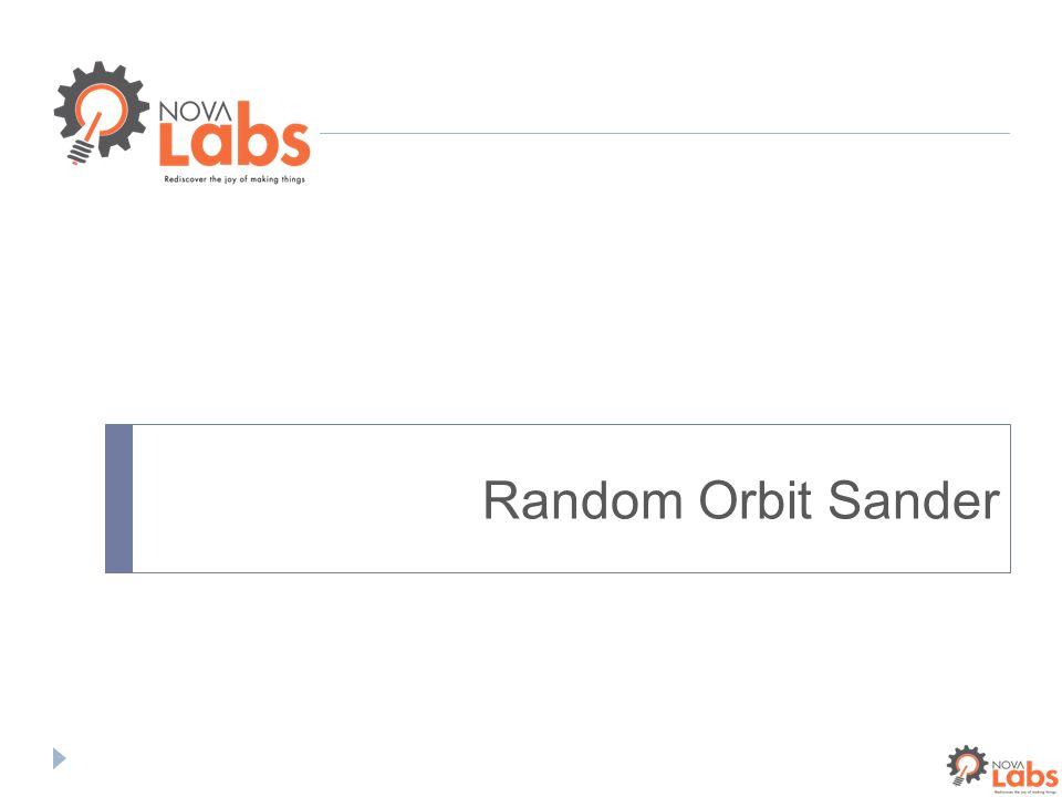 Random Orbit Sander