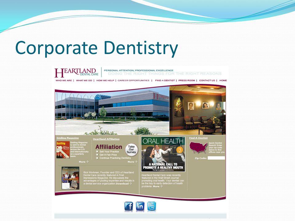 Corporate Dentistry