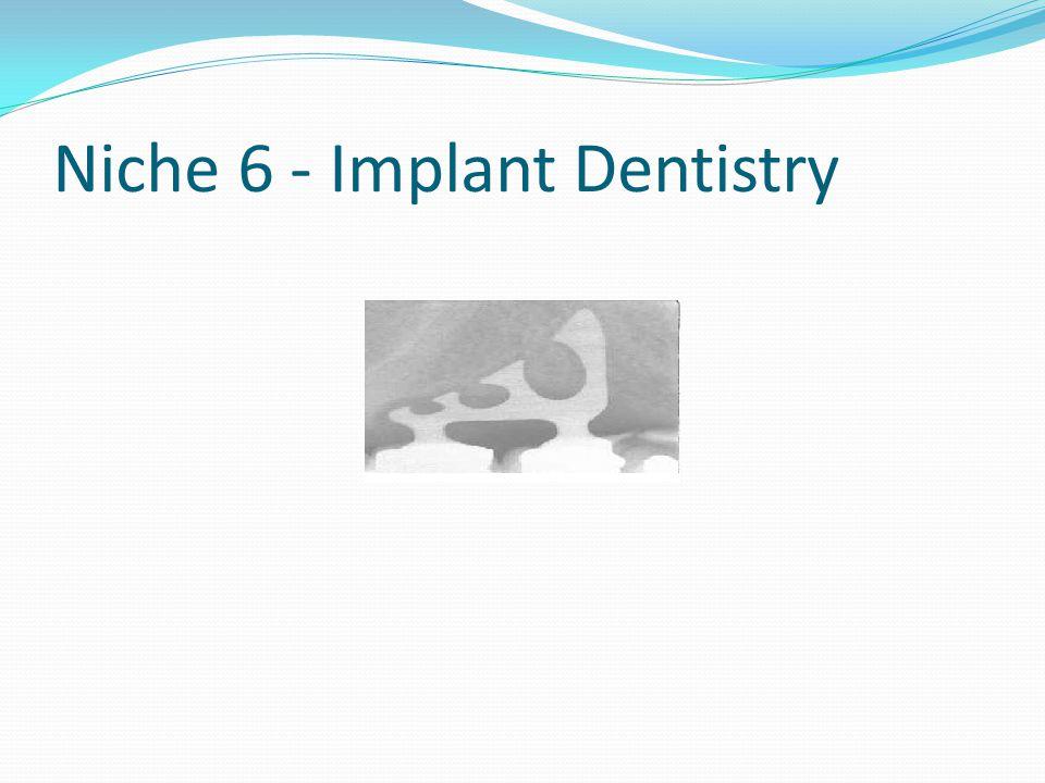 Niche 6 - Implant Dentistry