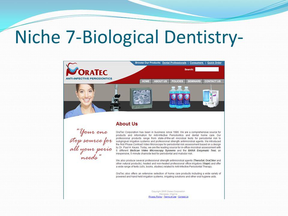 Niche 7-Biological Dentistry-