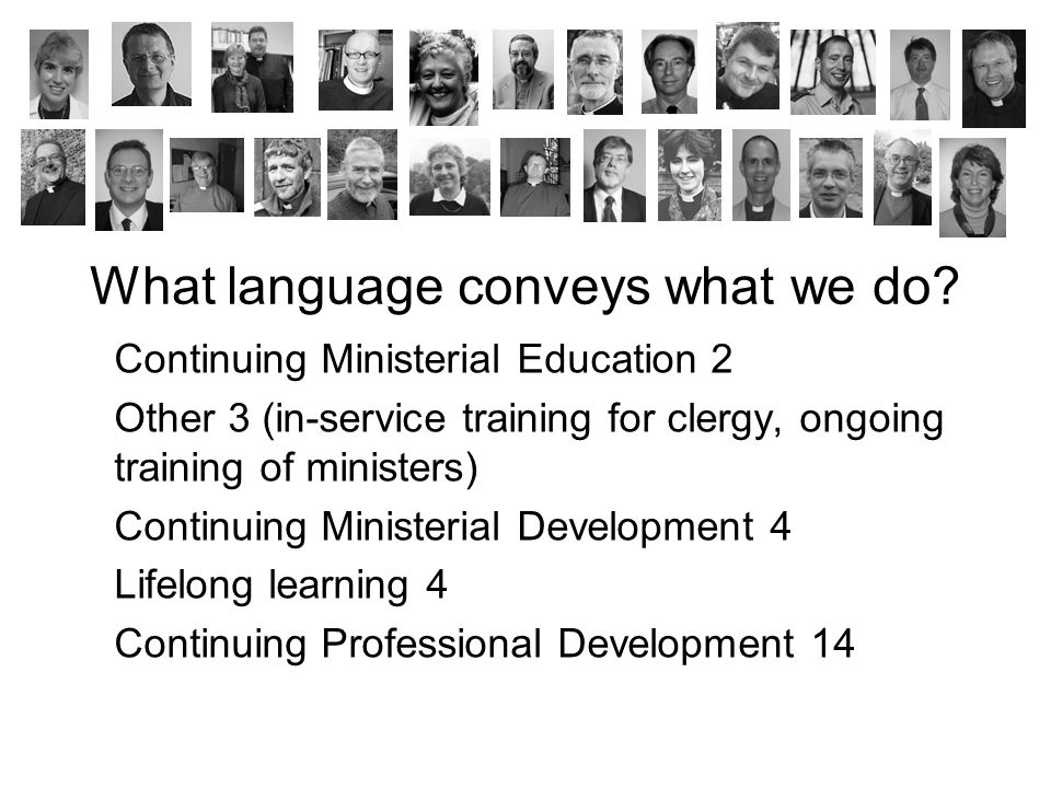 What language conveys what we do.