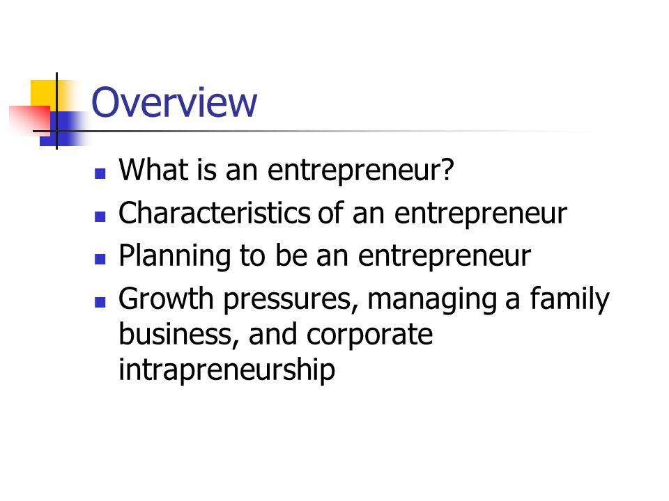 Entrepreneurship: Growth Pressures Going Global ….