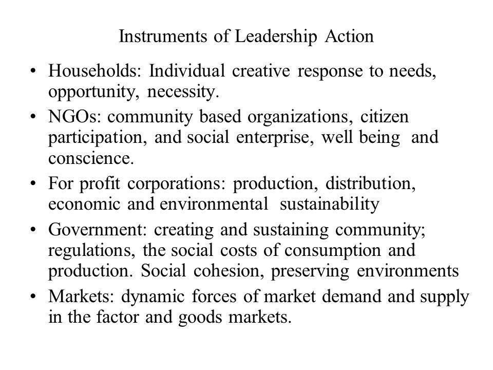Leaders Organizations and Decision Making Leaders are decision makers in the public and private spheres.