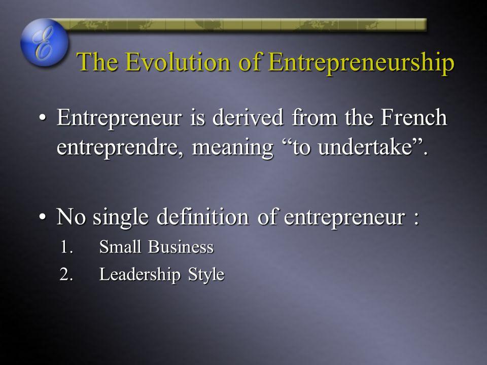 Who Are Entrepreneurs.