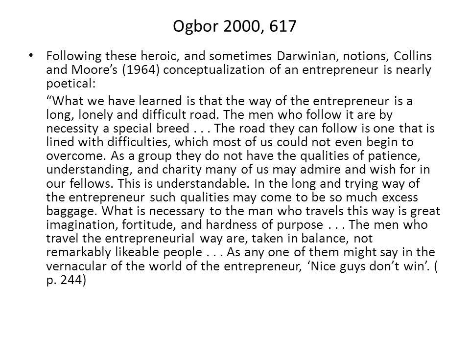 2.Social construction approach… Conclusion Social construction of entrepreneurial self.