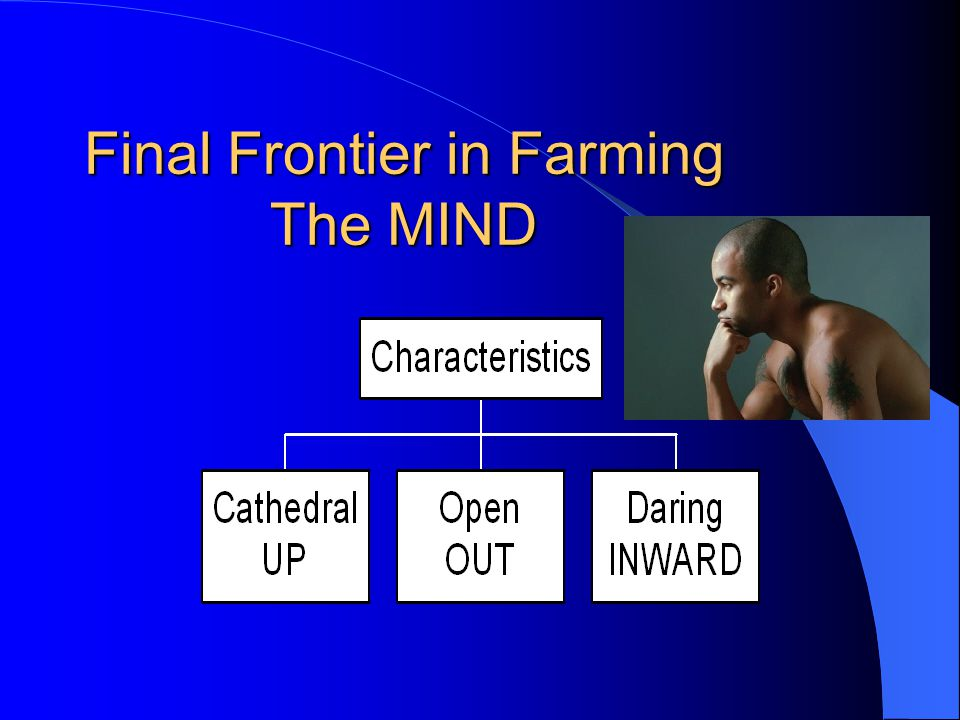 Final Frontier in Farming The MIND