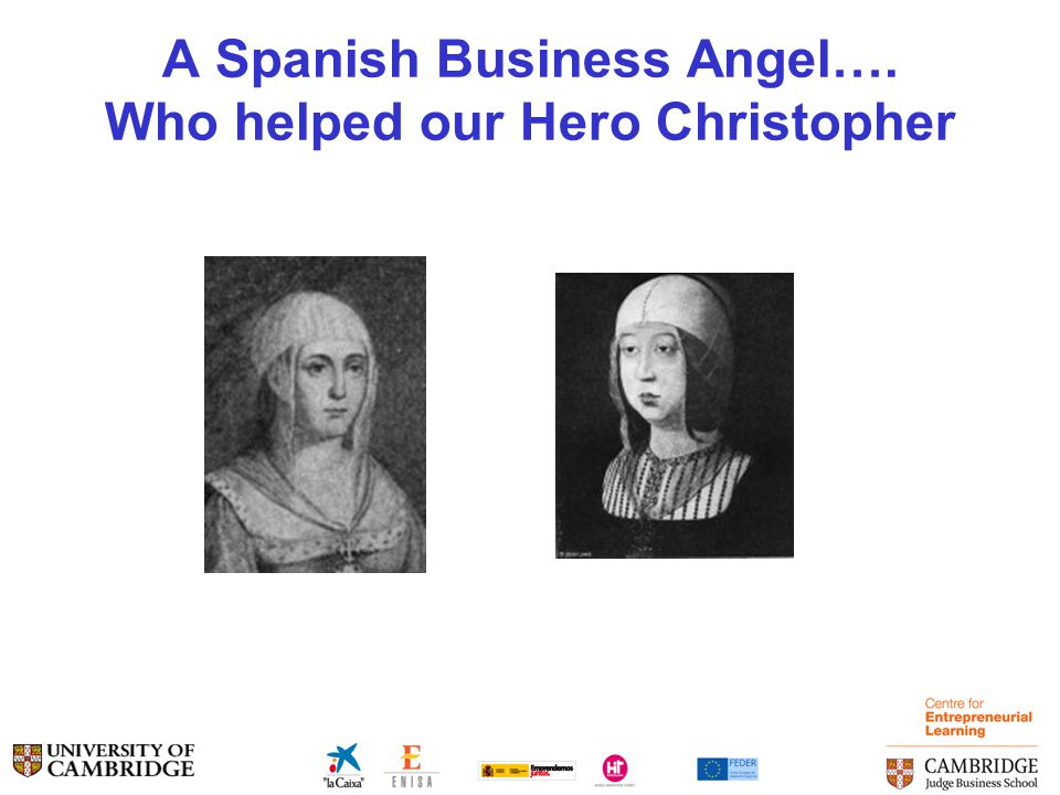 A Spanish Business Angel…. Who helped our Hero Christopher