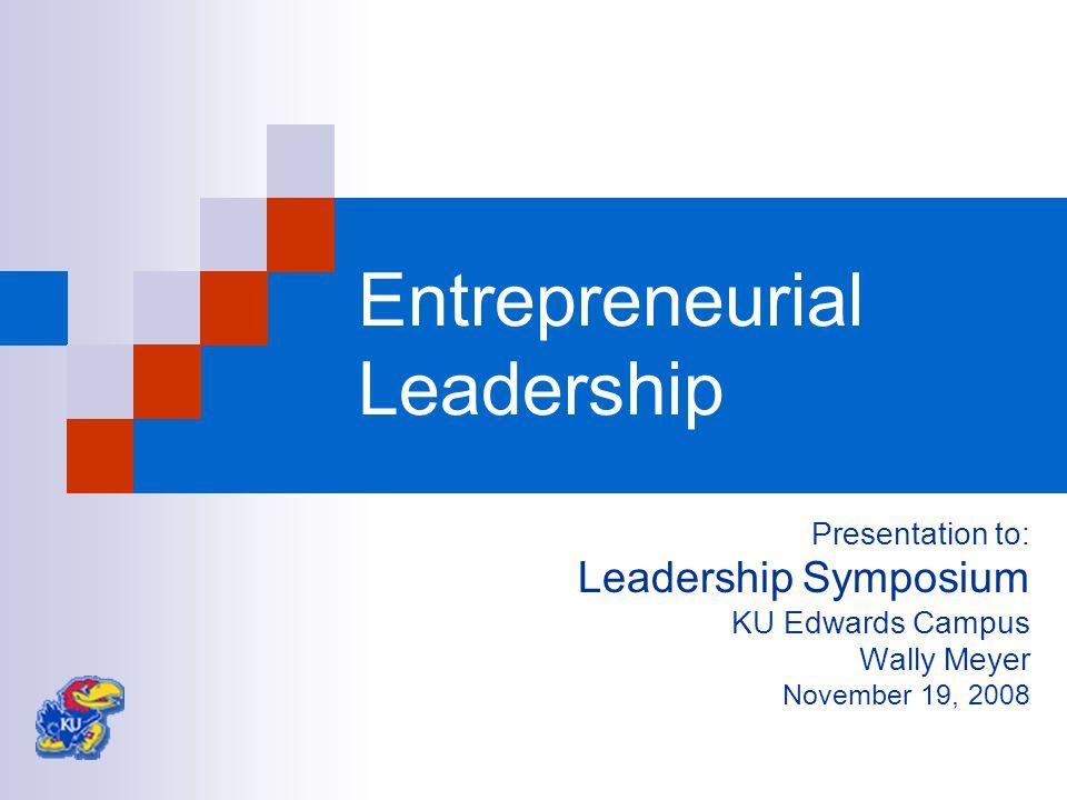 Premise Entrepreneurial leadership will accelerate achievement of organizational goals, enhance organizational performance
