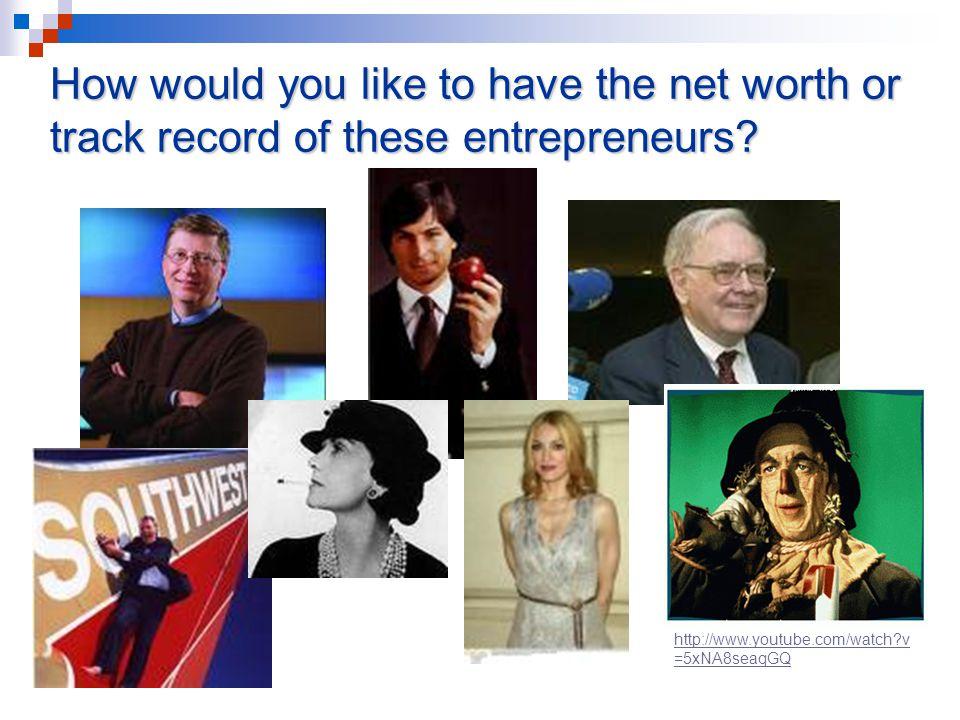 Was the Scarecrow an entrepreneur.