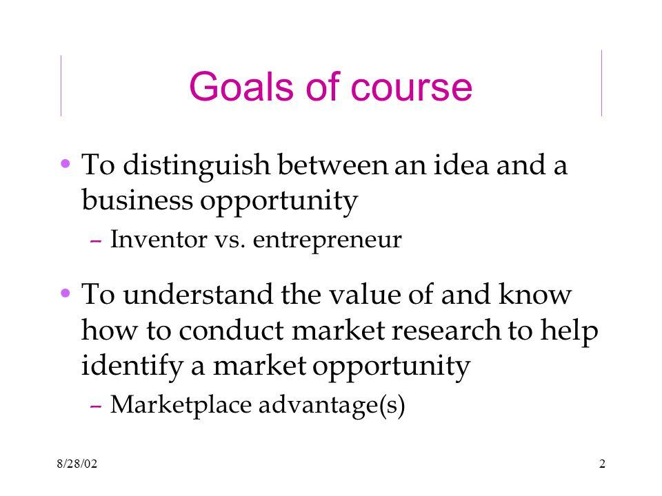8/28/023 Entrepreneurship Why do we care.
