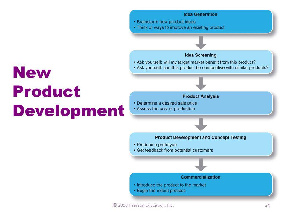 New Product Development © 2010 Pearson Education, Inc.24
