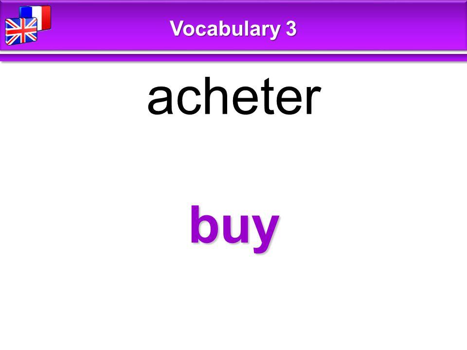 I don't feel like + V-ing Je n'ai pas très envie de … Vocabulary 3