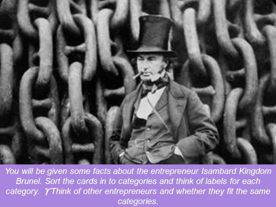 What makes a good entrepreneur? Has this man got it?