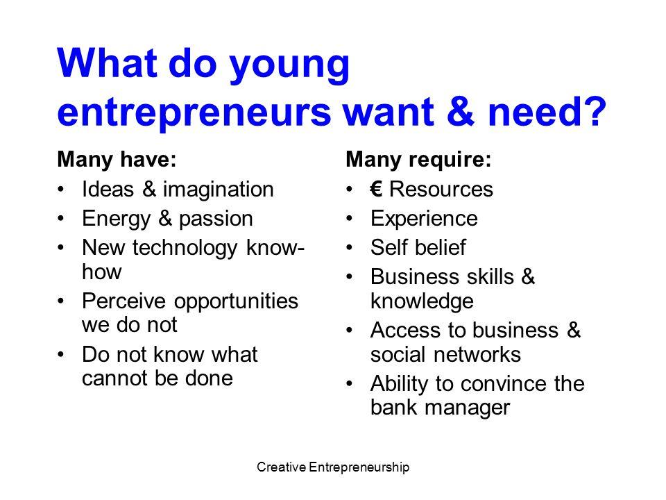 Creative Entrepreneurship How.