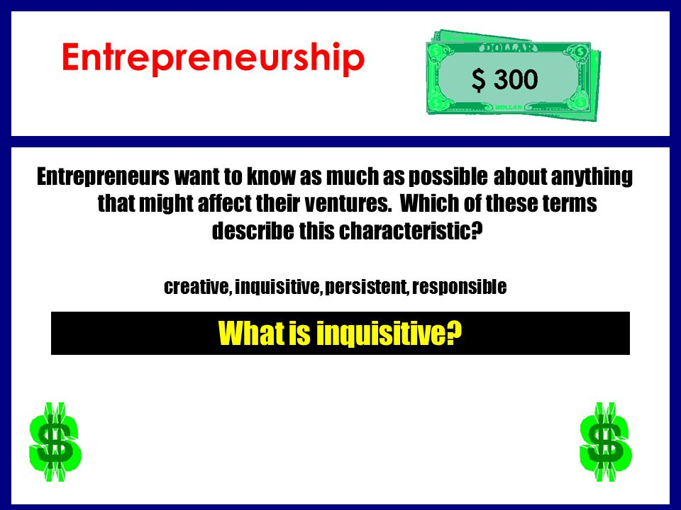 What is inquisitive.