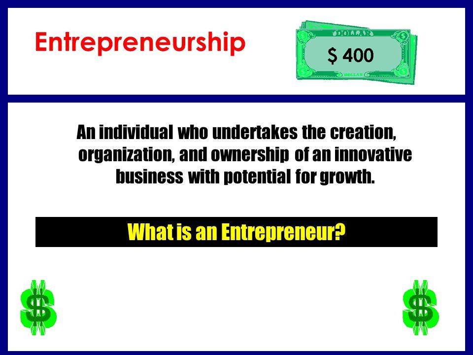 What is a sole proprietorship.