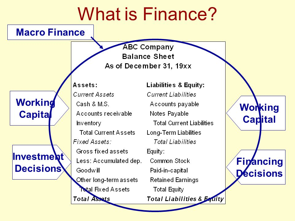 The Managerial Finance Function Relationship to Accounting INCOME STATEMENT SUMMARY ACCRUAL CASH Sales $100,000 $ 50,000 -COGS (60,000) (60,000) Gross Margin $ 40,000 $(10,000) -Expenses (30,000) (30,000) Net Profit/(Loss) $ 10,000 $(40,000)