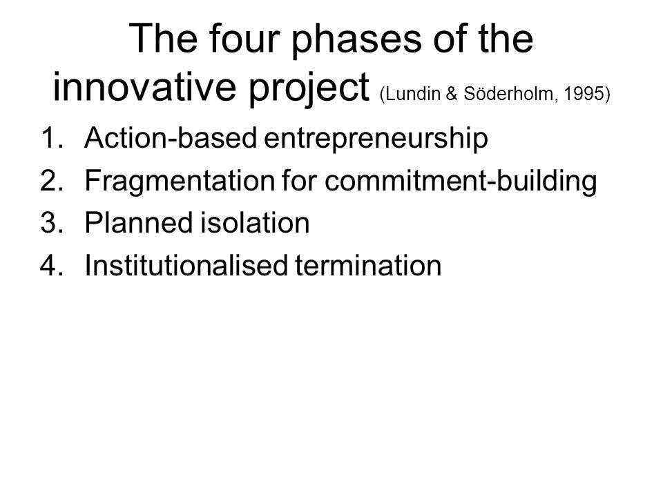 Phase 1: Action-based entreprenenurship Idea Followers Rhetorics Attractive ambiguity for stakeholders