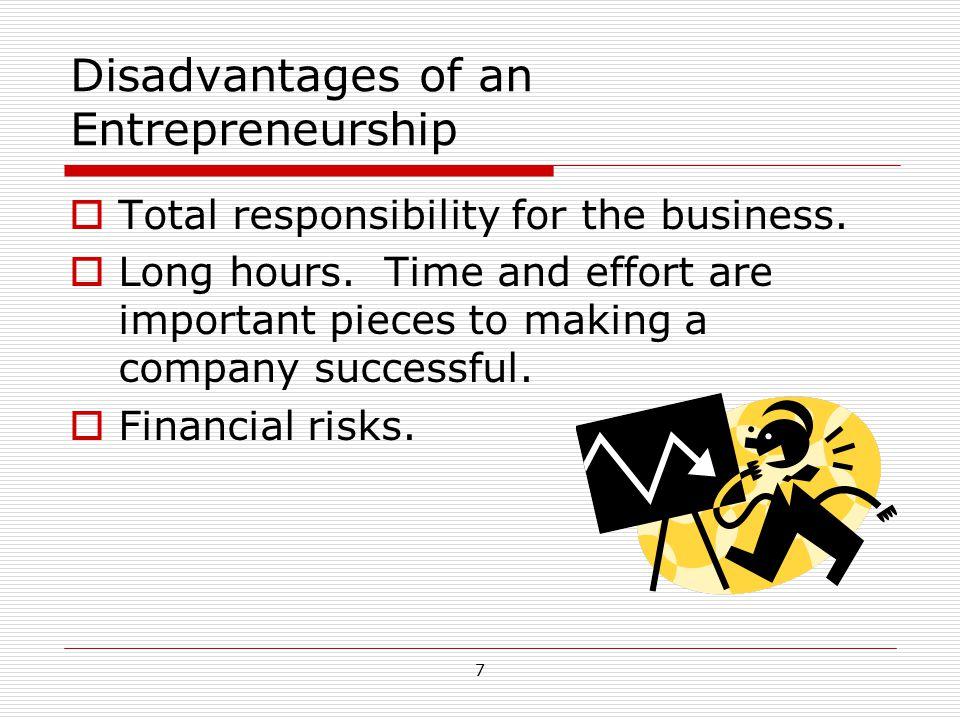 8 Entrepreneurship and the Economy  Entrepreneurship is a key part of the U.S.