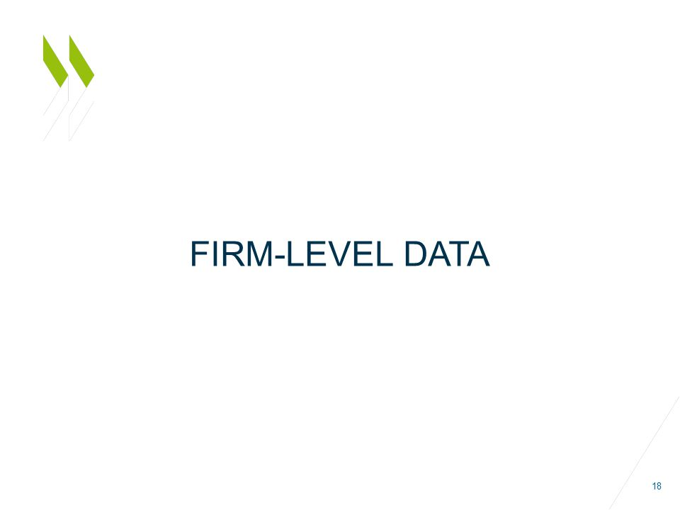 FIRM-LEVEL DATA 18