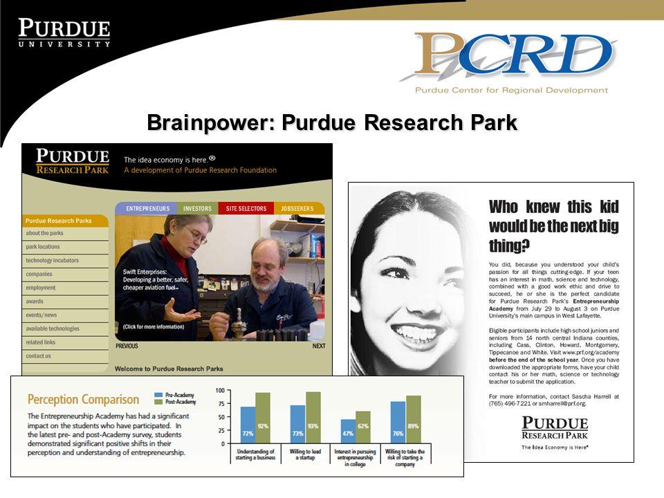 Brainpower: Purdue Research Park