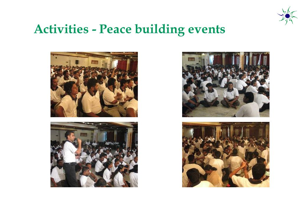 Activities - Peace building events