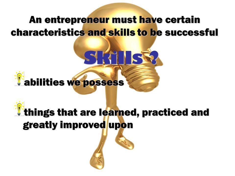 Skills .
