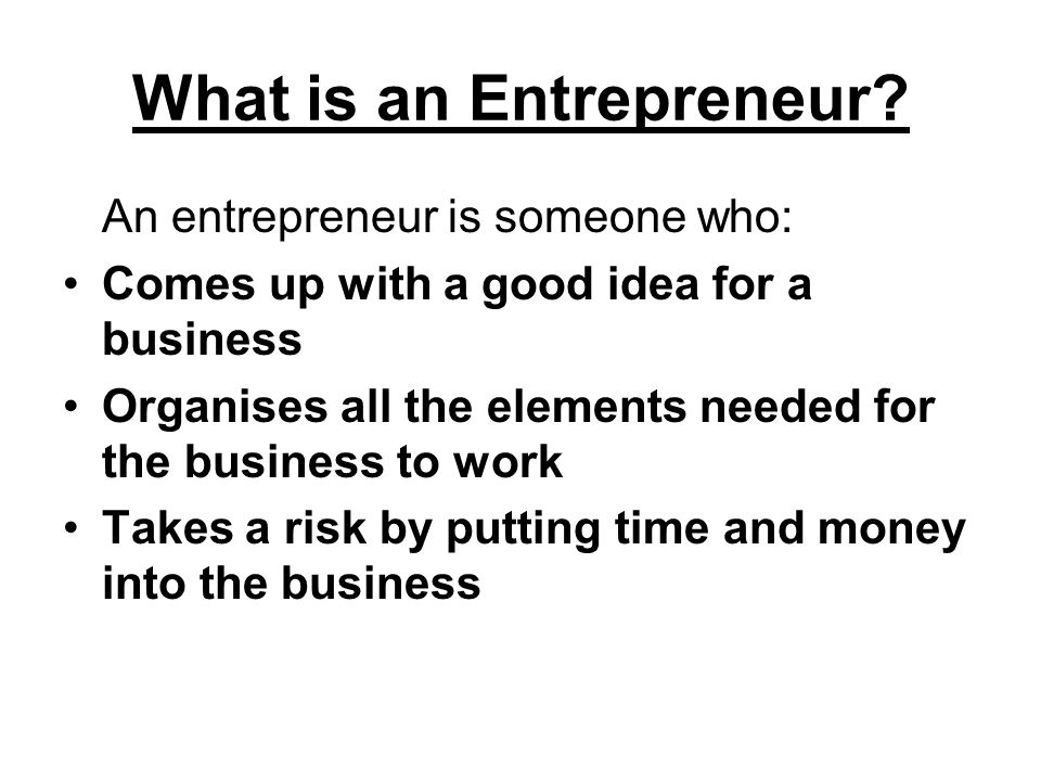Task Use the Internet to research an entrepreneur.