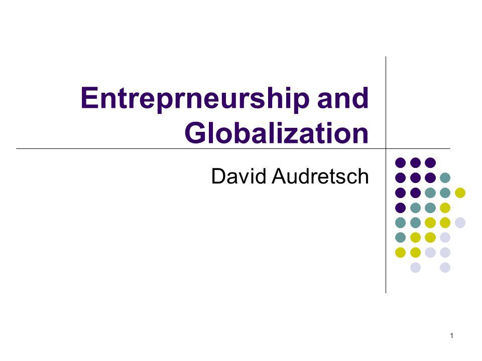 32 Estimating Entrepreneurship and Economic Performance— Growth of West German Regions 3SLS Estimation Dependent Variable: Regional Output Constant 1.0003*** (3.00) 0.5316* (1.73) 0.645* (1.94) 1.0061*** (2.79) Capital 0.2001 (7.07) 0.2022*** (7.69) 0.2069*** (7.76) 0.1923*** (6.52) Labor 0.7045*** (18.54) 0.6854*** (20.53) 0.6835*** (20.06) 0.7075*** (17.94) Knowledge 0.0244** (2.29) 0.0200* (1.73) 0.0246** (2.13) 0.0334*** (3.27) General Entrepreneurship 0.5230*** (6.84) High Tech Entrepreneurship.2496*** (6.38) ICT Entrepreneurship.2767*** (5.85) Low Tech Entrepreneurship.5078*** (6.33) R2.9336.9453.9402.9326