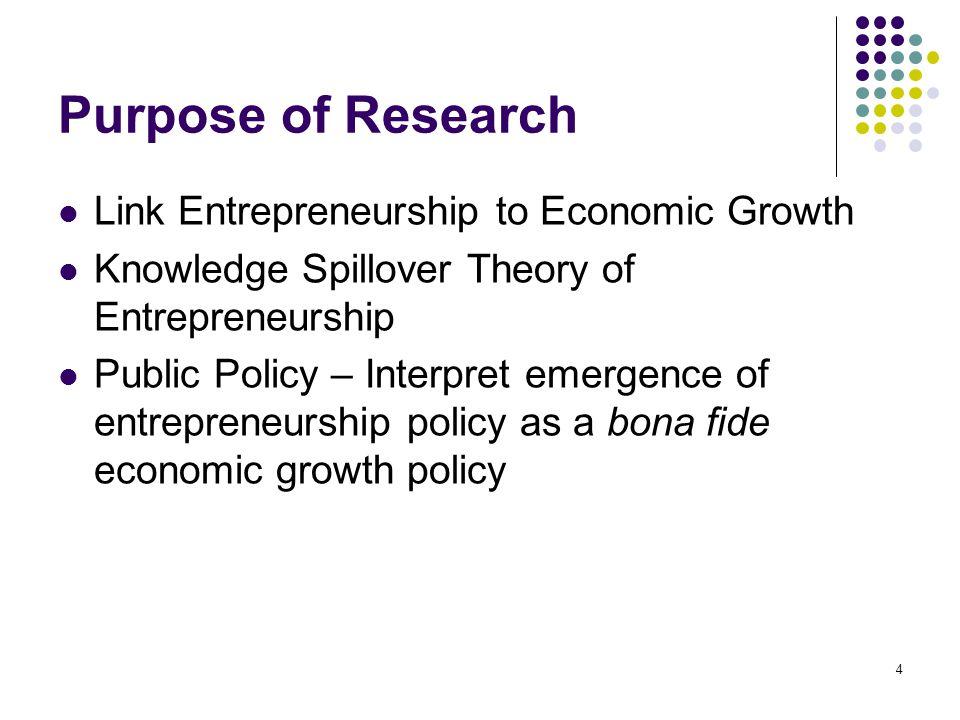 15 Knowledge Filter & Missing Link Q i = h(t)f (C i, L i, K i )Economic Growth K = K c Romer Spillover Assumption θ = K c /KKnowledge Filter λ = E*/KMissing Link