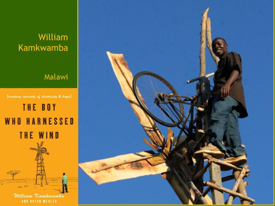 William Kamkwamba Malawi