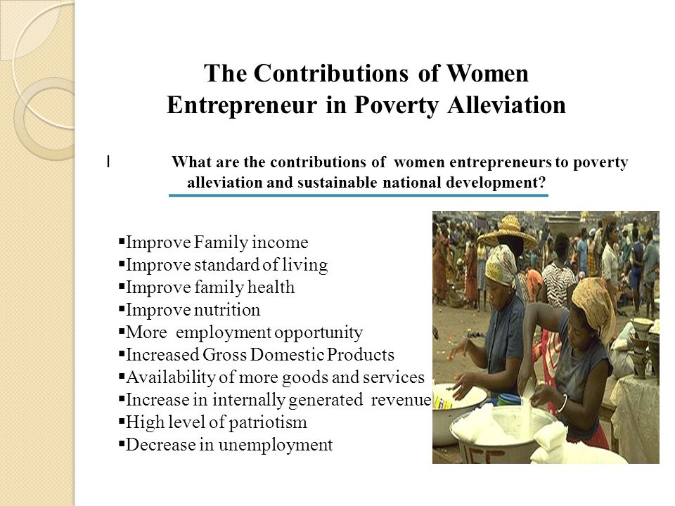 DISCUSSION OF FINDINGS Data analysis in hypothesis one indicated no significant difference in the mean responses of both the experienced and inexperienced women entrepreneurs regarding their contributions to poverty alleviation and sustainable development of Nigeria.
