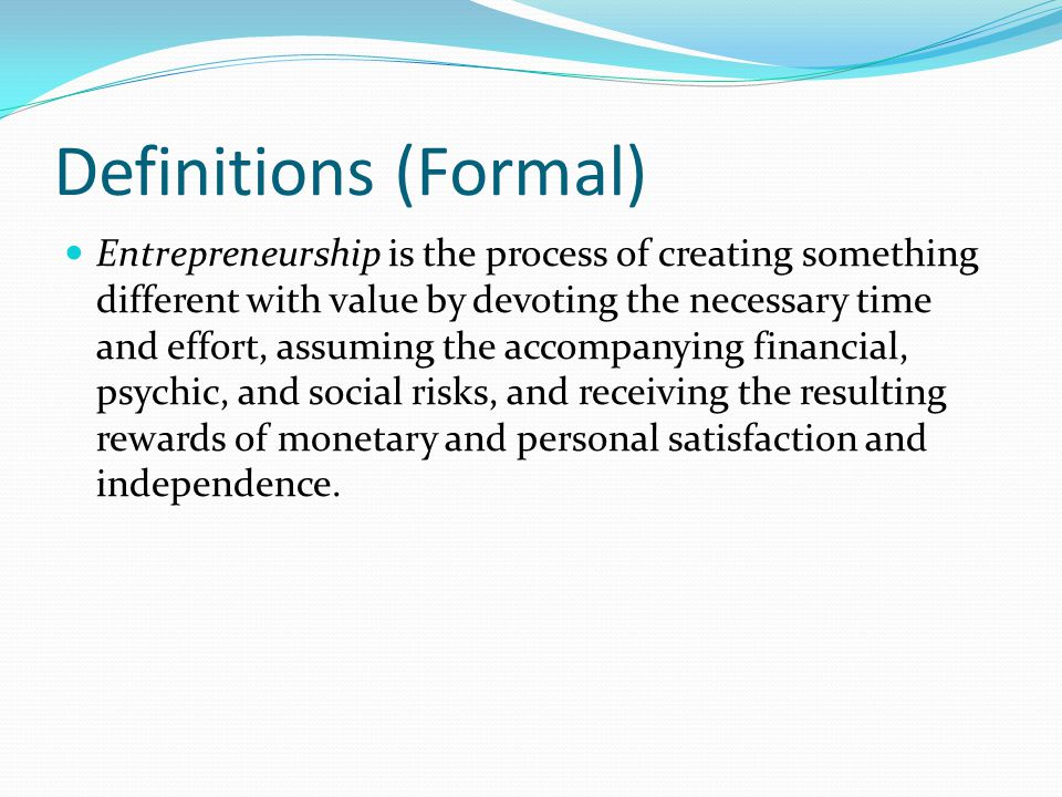 Characteristics of Entrepreneur An entrepreneur has acheived the following educational attainment by the time the first significant business venture begins: a.less than high school b.high school c.bachelor's degree d.master's degree e.doctor's degree