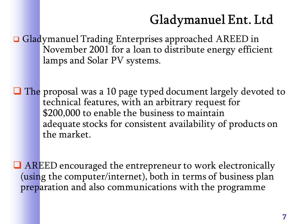 8 Gladymanuel Ent.