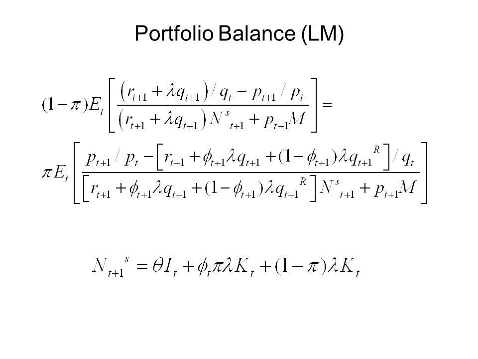 Portfolio Balance (LM)