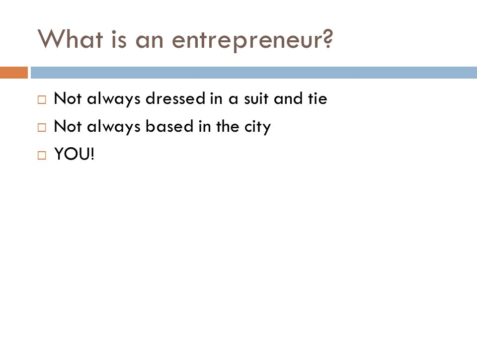 Attributes to Becoming a Successful Entrepreneur