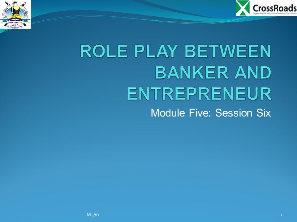 Module Five: Session Six M5S61